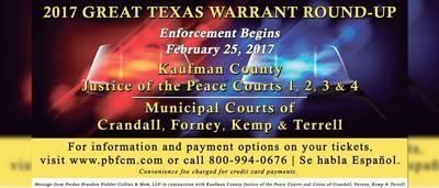 Kaufman County law enforcement agencies participating in