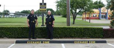 Mesquite Police Department establish Safe Exchange Zone