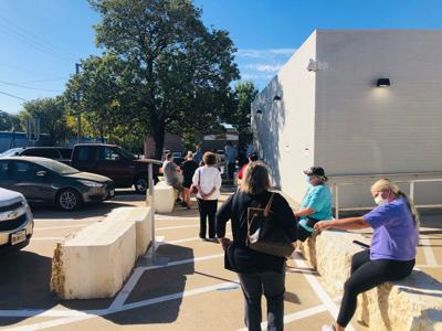 Kaufman county early voters