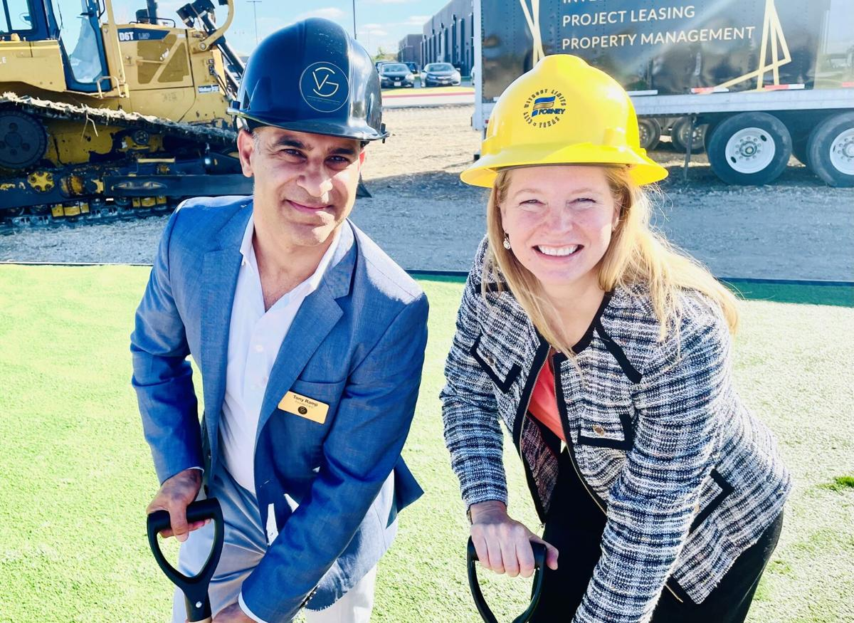 Victory Realty Group Breaks ground in Forney