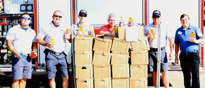 Community donates to Brookshire's, Gatorade partner drive benefiting Forney Fire Department