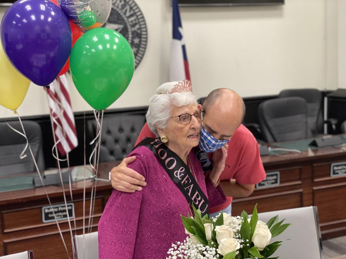 Ilene Hughes 100th Birthday