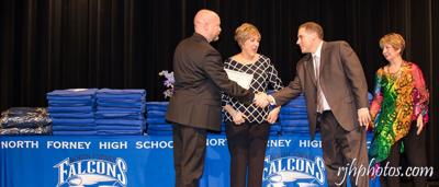 North Forney High School students recognized at Academic Awards Ceremony