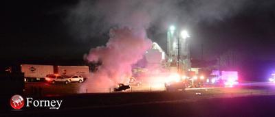 Three killed in fiery wrong-way head-on collision on U.S. Highway 80