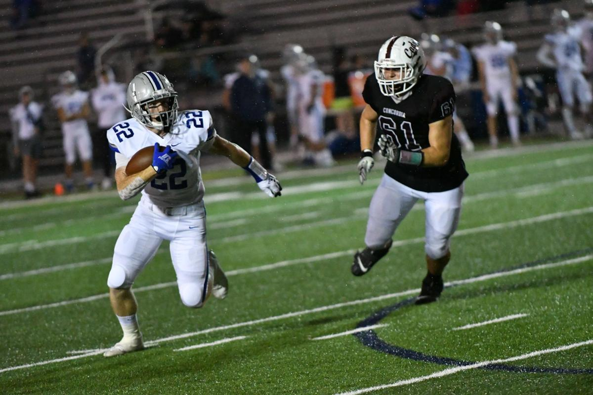 Chargers dominate Concordia 69-7