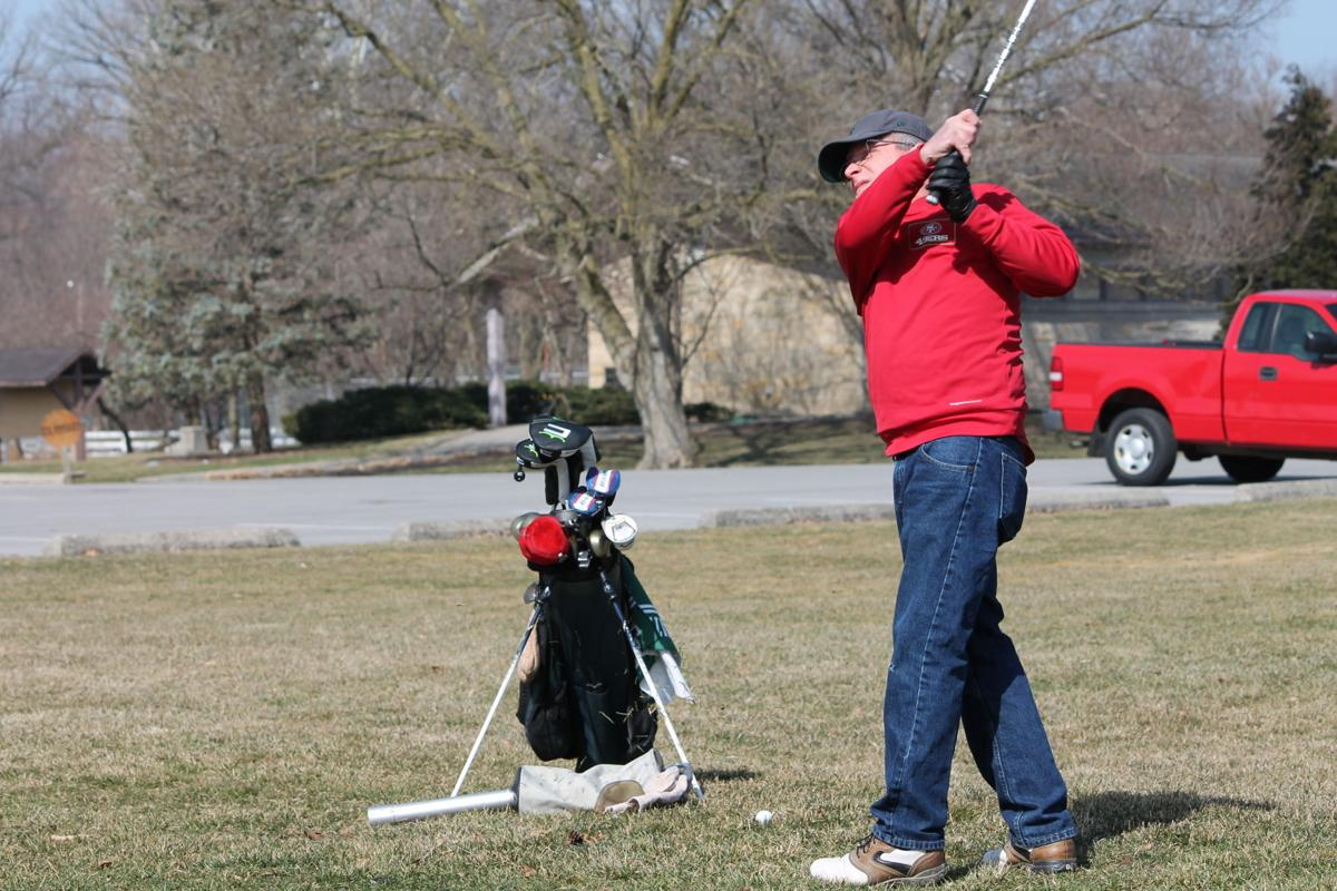 Opening day at Foster Park Golf Course