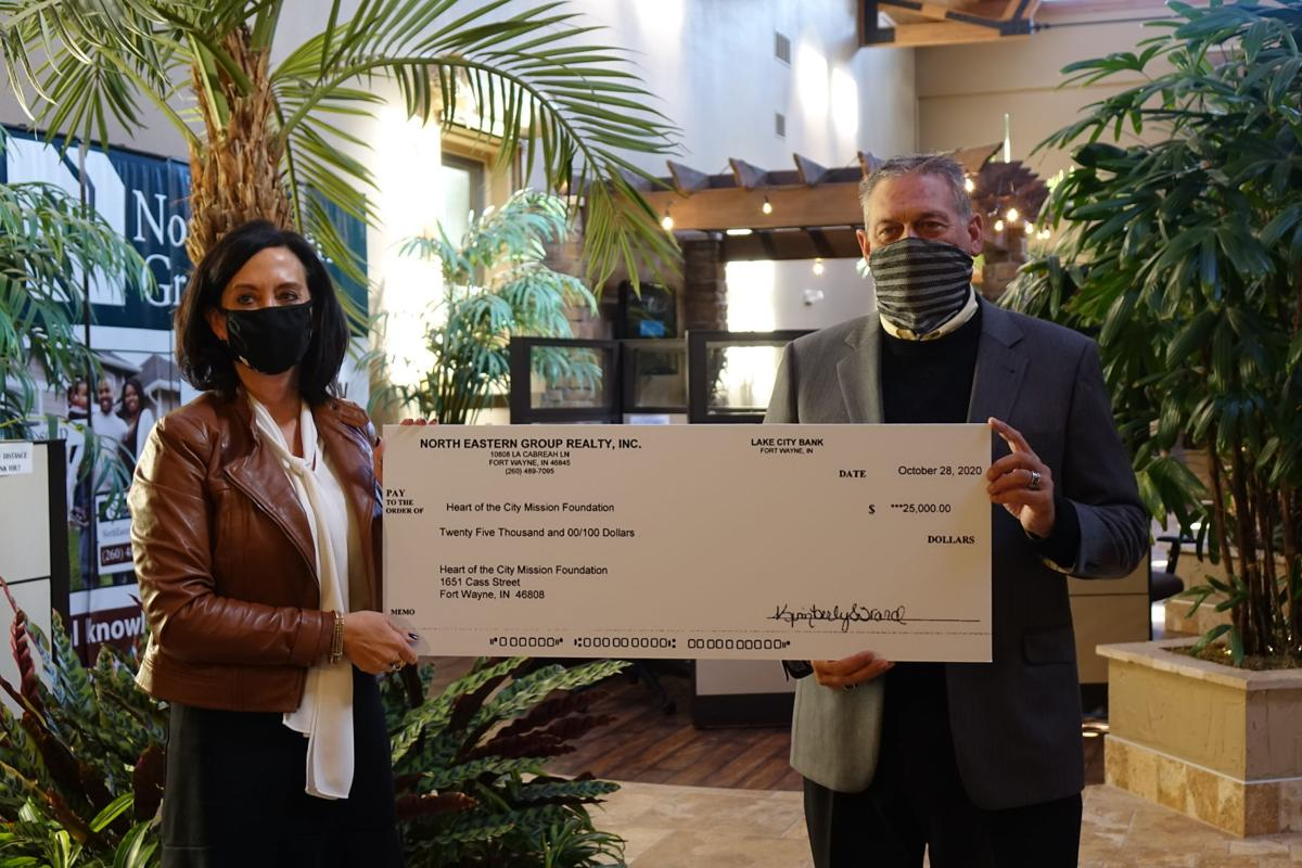 North Eastern Group Realty donation