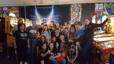 Fort Wayne Pinball Wizard's World Arcade, Well Grounded Cafe team up