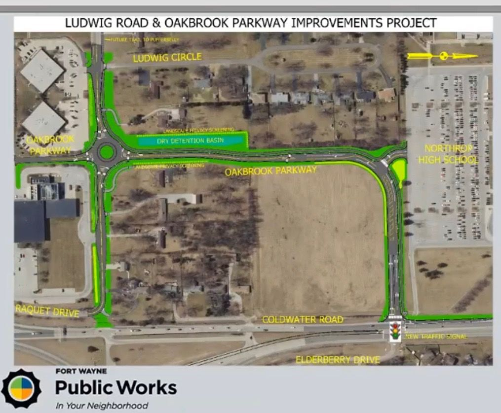 Ludwig & Coldwater roads project