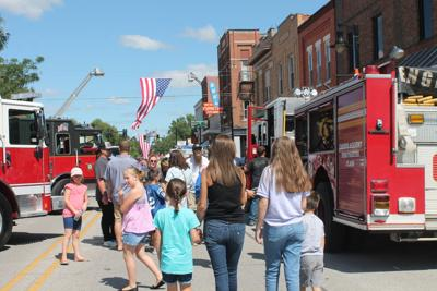 New Haven Fire Muster fills Broadway