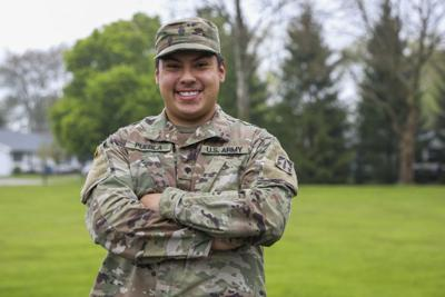 Spc. David Puebla, Fort Wayne