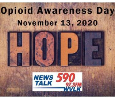 WVLK Opiod Awareness Day