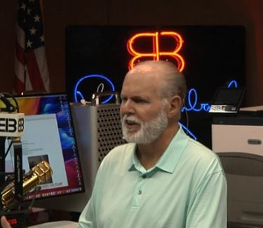 Rush Limbaugh studio