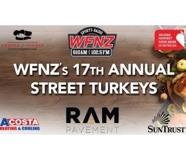 WFNZ Street Turkeys