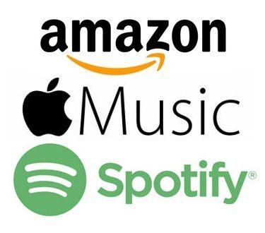 Amazon - Apple Music - Spotify