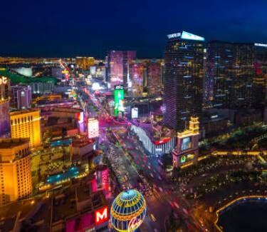 Las Vegas strip - Getty Images