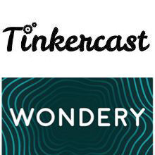 Tinkercast Wondery Logos 220