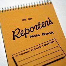 Reporter Notebook 220