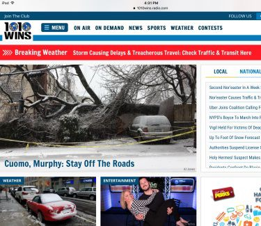 Entercom Rolls Out New Websites For New York Stations