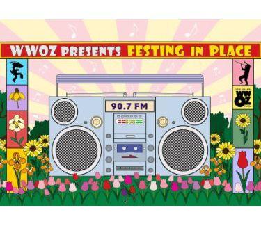 WWOZ Jazz Festing in Place