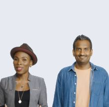 Luvvie Ajayi and Sean Rameswaram220