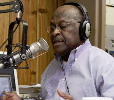 Herman Cain Steps Down From WSB Show, Von Haessler Expands. | Story | insideradio.com