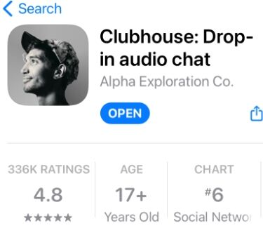 Clubhouse appstore
