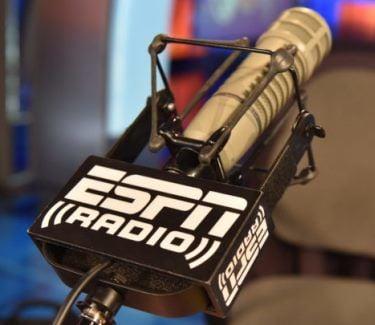 ESPN Radio microphone