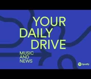 Spotify daily drive