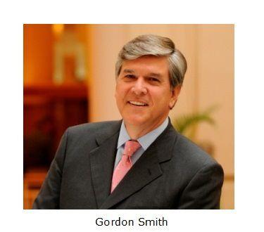 Gordon Smith with caption