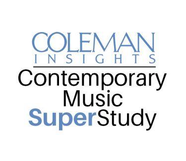 Coleman Insights Contempory Music Super Study