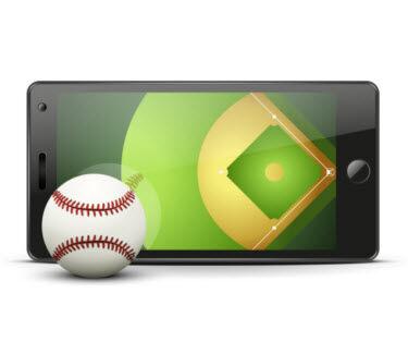 Baseball Mobile Phone