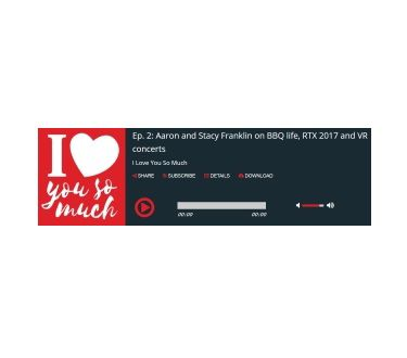 StreamGuys - Single Episode Player