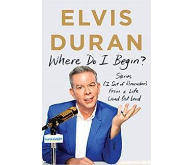 Elvis Duran Book Jacket