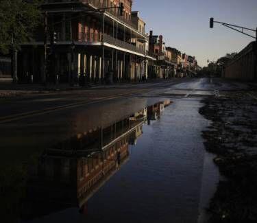 Hurricane Ida New Orleans street - Getty Images