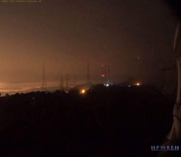 Mt Wilson fire 09162020