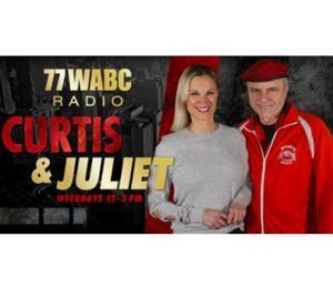 Juliet Huddy Joins Curtis Sliwa On WABC.
