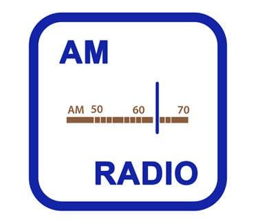 AM radio dial