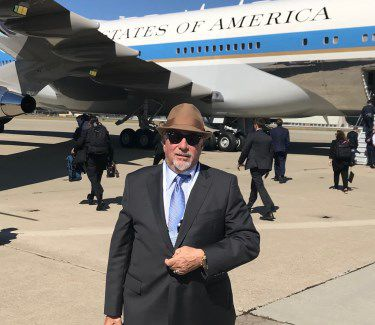 Michael Savage Air Force One