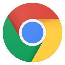 Google Chrome Logo 220