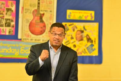 Ellison vows to tackle health, environment issues