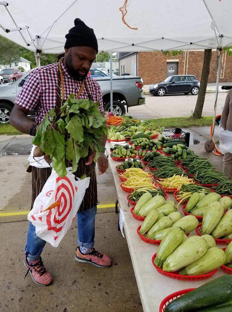 Black in chef's whites: Mateo Mackbee, Model Citizen