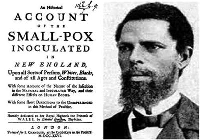 African introduced practice of immunization against smallpox