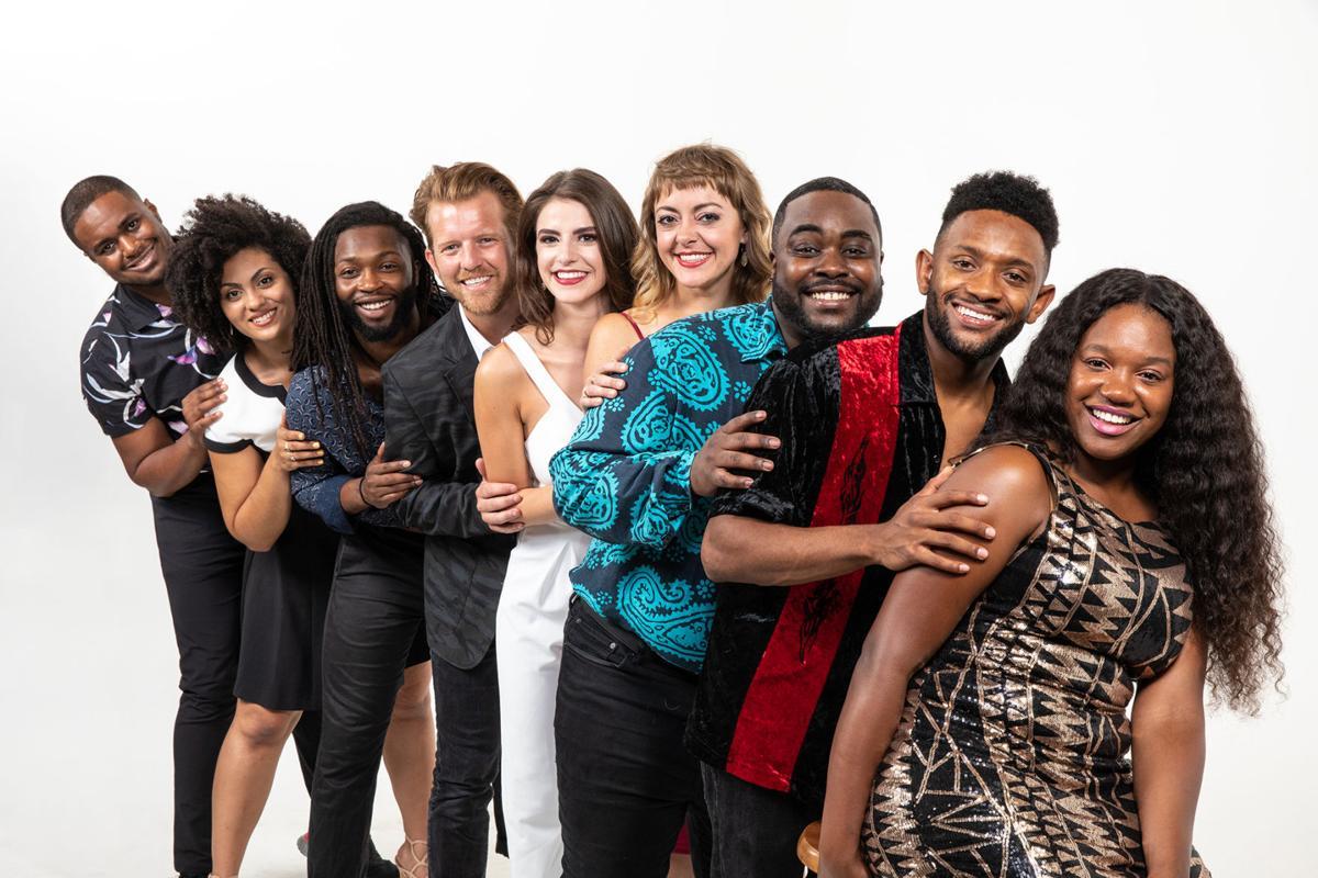 Cast of Smokey Joe's Cafe
