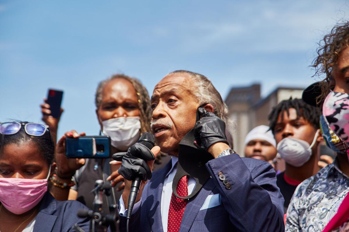 The Rev Al Sharpton