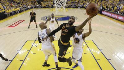 LeBron, Irving propel Cavs to historic finals win; former Wolves, Love, Williams get rings