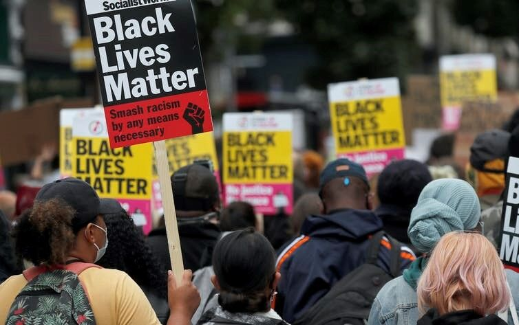 BLM Protest_the conversation