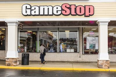 Gamestop store facade