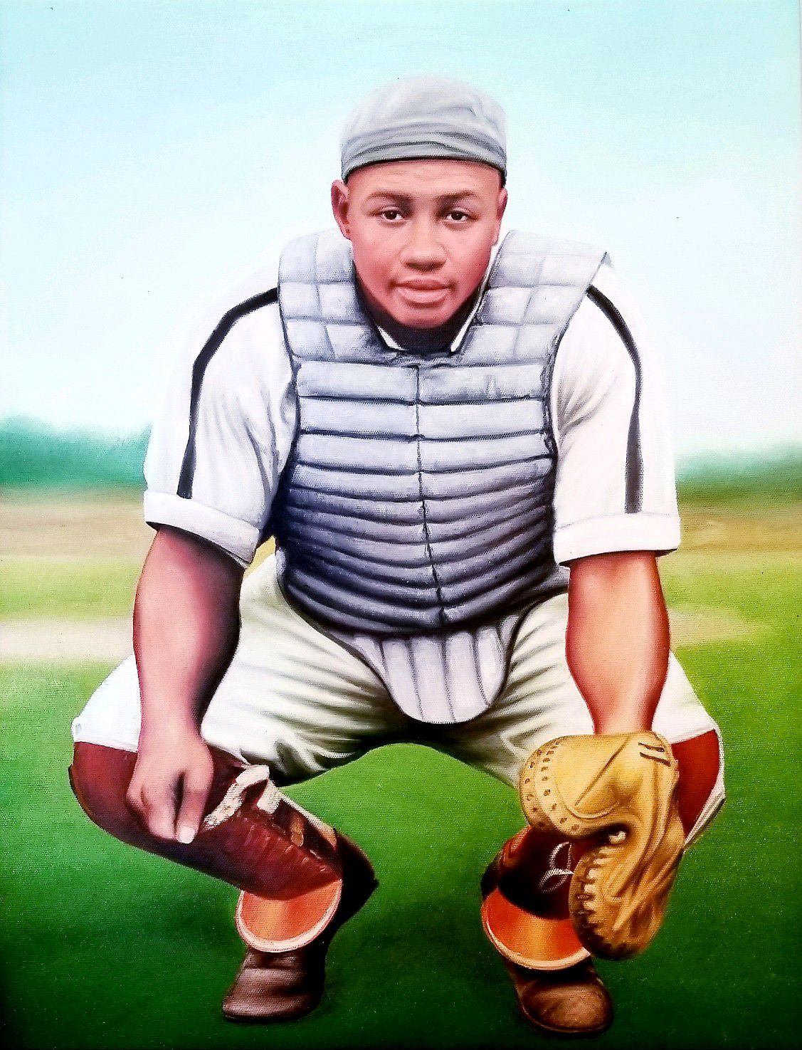 Negro League star, Josh Gibson.jpg