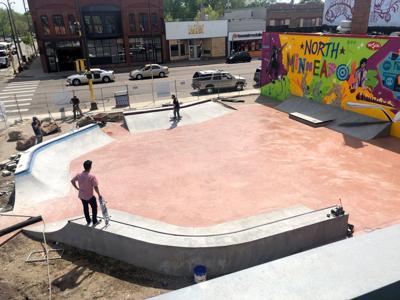 skateable art plaza